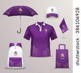 promotional souvenirs design... | Shutterstock . vector #386106928