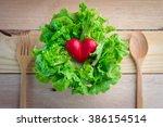 i love vegetables vegetarian....   Shutterstock . vector #386154514