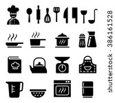 cooking icon | Shutterstock .eps vector #386161528