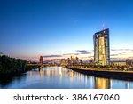 european  central  bank   Shutterstock . vector #386167060