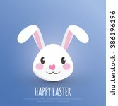 Happy Easter. Easter Bunny  ...