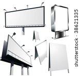 outdoor advertising...   Shutterstock .eps vector #38621335