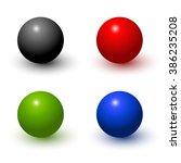 vector color balls | Shutterstock .eps vector #386235208