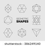 vector abstract regular... | Shutterstock .eps vector #386249140
