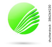 Abstract Green Sphere For Your...