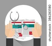 medical care design  | Shutterstock .eps vector #386283580
