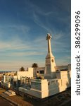 waverly cemetery in sydney by... | Shutterstock . vector #386299096
