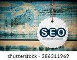 seo search engine optimization | Shutterstock . vector #386311969