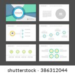 infographics for leaflet  flyer ... | Shutterstock .eps vector #386312044