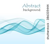 abstract background with blue... | Shutterstock .eps vector #386335444