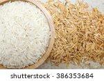 Raw Rice Grain