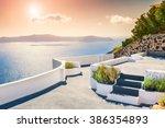 Beautiful Sunset On Santorini...