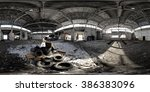 Abandoned Depot. Panoramic Sho...