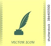 vector illustration of icon... | Shutterstock .eps vector #386405500