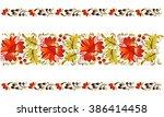 petrykivska painting  ...   Shutterstock .eps vector #386414458
