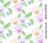 background seamless pattern.... | Shutterstock .eps vector #386433940