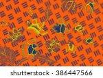 the beautiful of art malaysian...   Shutterstock . vector #386447566