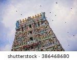 kapaleeswarar temple in chennai ...   Shutterstock . vector #386468680