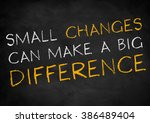 Small Changes Can Make A Big...