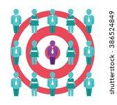 customer value optimization... | Shutterstock .eps vector #386524849