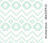 seamless pattern with... | Shutterstock .eps vector #386535910