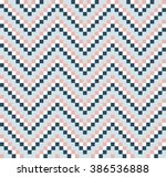 seamless pattern with simple... | Shutterstock .eps vector #386536888