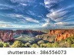 Desert Landscape In Southwest...