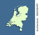map of netherlands | Shutterstock .eps vector #386568499