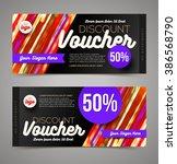 discount voucher template  ...   Shutterstock .eps vector #386568790