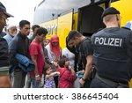 passau  germany   august 2 ... | Shutterstock . vector #386645404