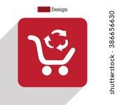 icon exchange of goods | Shutterstock .eps vector #386656630