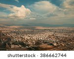 Aerial View Of Tehran City...