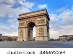 Arc De Triomphe Paris City At...