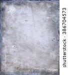 antique glass plate negative | Shutterstock . vector #386704573