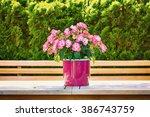flowers in the flower pot | Shutterstock . vector #386743759