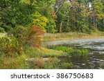 Autumn on Saw Mill Lake.  Destination High Point State Park in New Jersey