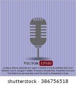 microphone vector symbol   Shutterstock .eps vector #386756518