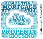 property info text graphics... | Shutterstock . vector #386760880