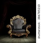 classic luxury chair | Shutterstock . vector #386785210