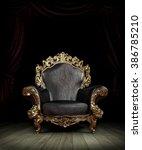 classic luxury chair | Shutterstock . vector #386785210