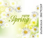 spring beautiful background...   Shutterstock .eps vector #386792269