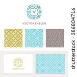 vector set of graphic design...   Shutterstock .eps vector #386804716