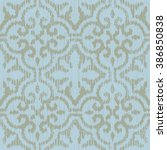 moroccan pattern seamless... | Shutterstock .eps vector #386850838