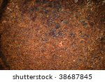 abstract rusty grunge metal... | Shutterstock . vector #38687845