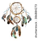 Dream Catcher With Feathers....