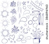 Collection Of 47 Sketched Retr...
