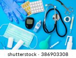 medical equipment background | Shutterstock . vector #386903308