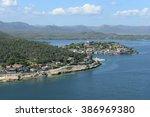 Coast Of Santiago De Cuba With...