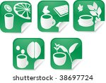 set of various beverage icons... | Shutterstock . vector #38697724