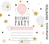 Creative Birthday Card. Simple...